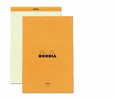 Rhodia Top-Stapled Yellow Pad N°19