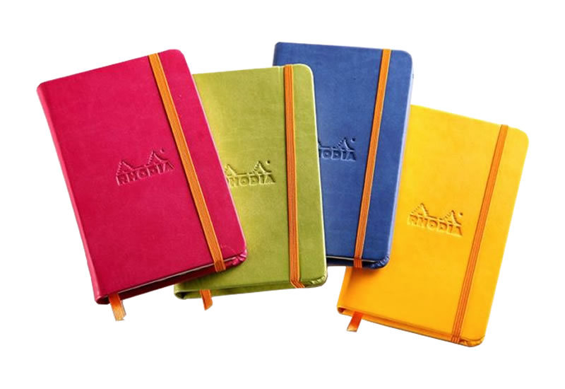 Rhodiarama Hard Cover : Rhodia Weekly Notebooks and Planners