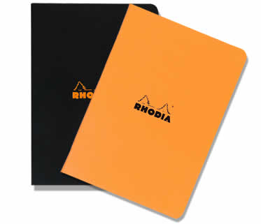 Rhodia Side-Stapled A4 Large Size