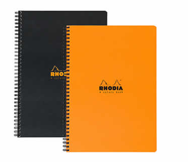 4-Color Side Wirebound Notebook